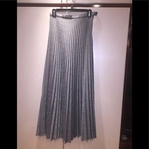 Dresses & Skirts - ✨Final Price!✨Gray Pleated Maxi Skirt Size M